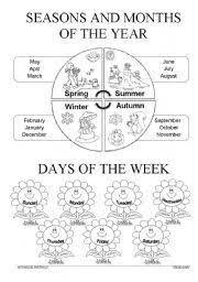 seasons and clothes worksheet free esl printable worksheets made