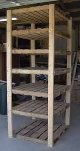 Wood Shelf Plans Basement by Best 25 Basement Storage Shelves Ideas On Pinterest Diy Storage