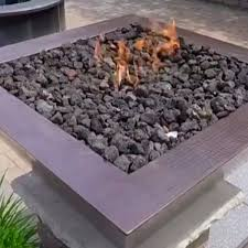 Fire Pit Lava Rock by 25 Pounds Of Fire Pit Lava Rock