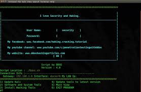 kali linux latest tutorial ddos 4 0 the best script for kali linux rolling null byte