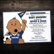 printable invitation soccer sports tailgate baby shower or