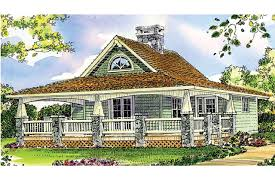 House Plans With A Wrap Around Porch by Craftsman House Plans Fenwick 41 012 Associated Designs