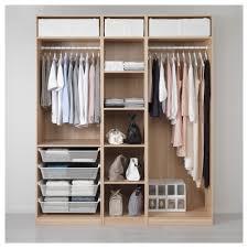 Schlafzimmer Mit Ankleide Pax Kleiderschranksystem Kombination Ohne Türen Ikea