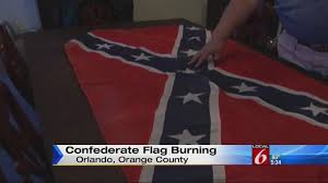 Burning Red Flag Confederate Flag Burning Ceremonies To Be Held On Memorial Day