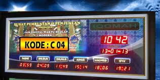 membuat jam digital led besar jual jam sholat digital jual jam digital sholat harga jam sholat