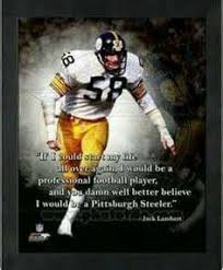 Steel Curtain Football Jack Lambert My Jack And Other Favorite Football Players