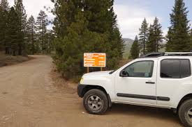 nissan xterra 2015 pro4x off road on henness pass in the sierras with the xterra pro 4x