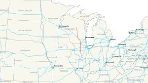 United States Map With Mileage Scale by Interstate 39 Wikipedia