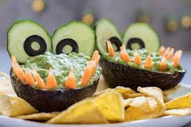 aligator cuisine alligator avocado guacamole dip and nachos stock photo image
