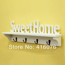 home sweet home decoration special offer sweet home wall shelf storage rack rural style wall