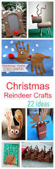 22 dashing reinder craft project ideas for kids to make at
