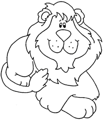 coloring pages of a lion eliolera com
