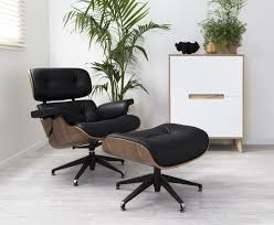 mocka eames replica lounge chair ottoman reproduction on modern