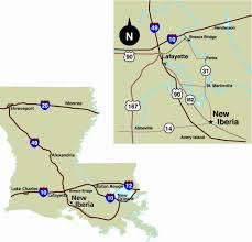 New Orleans La Map by Maps U0026 More City Of New Iberia Louisiana