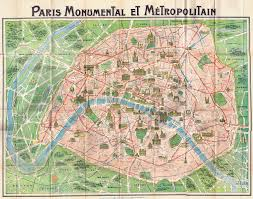 Map A Trip A Trip To Paris U2026 In 1918 With Free Printable Downloads