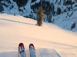 tr first backcountry turns of 12 13 season at squaw valley