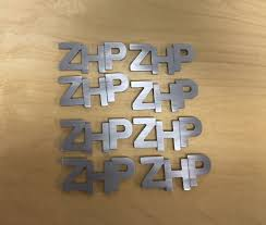 custom mitsubishi emblem fs custom waterjet cut