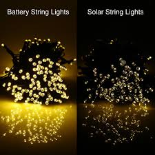 battery operated halloween string lights amazon com rechargeable battery included easydecor battery