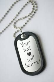 mens personalized necklace anniversary dog tag personalized mens pendant necklace mens