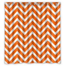 Yellow White Chevron Curtains Best Orange Chevron Shower Curtain Best Chevron Stuff
