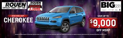 chrysler jeep dodge rouen chrysler dodge jeep ram car dealer near toledo oh