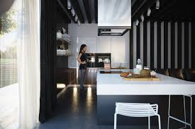 Black Kitchens Designs by Kitchens With Contrast
