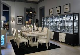 Aico Dining Room Sets by Beverly Blvd Dining Room Collection By Michael Amini