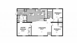 3 bedroom trailer floor plans meadow ridge ranch modular home 1 173 sf 3 bed 2 bath next