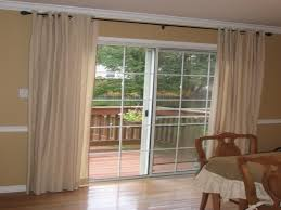 sliding glass door curtain ideas blinds for french doors and