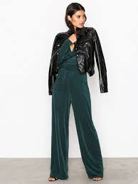 green jumpsuit glamorous jumpsuit nly trend green jumpsuits clothing