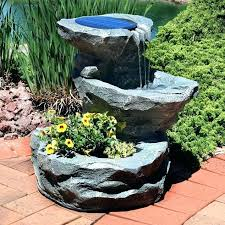 outdoor water features with lights large garden water fountains large bowl water feature best water