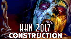 halloween horror nights giveaway hhn 2017 construction update july youtube