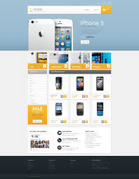 Price Plan Design Mobile Store Prestashop Template