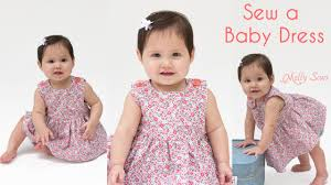 pattern dress baby girl how to sew a baby dress free pattern youtube