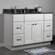 Wood Bathroom Vanities Cabinets by Solid Wood Bathroom Vanity Ebay