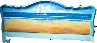 themed headboards accessories nautical headboard pastel paddles oars