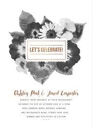 Engagement Invitation Cards Images Spring Collection Dp Engagement Invitations