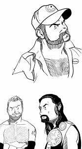 roman reigns coloring pages pictures pin thepinsta