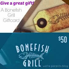 bonefish gift card bonefish grill menu we re parents