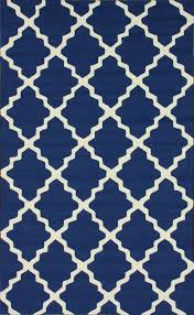 Navy And White Outdoor Rug Dining Room Rug Rugs Usa Hacienda Lattice Trellis Outdoor Navy