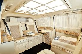 luxury minivan mercedes mercedes benz v class klassen luxury vip vans cars