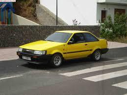 yellow toyota corolla toyota corolla gt coupe ae86 1985 venta de veh culos y coches