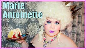 Marie Antoinette Halloween Costume Marie Antoinette Halloween Makeup U0026 Costume Tutorial