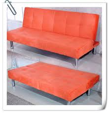 Orange Sofa Bed Elky Sofa Bed Leather Flannelette Series More Colours Quality