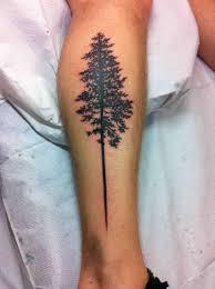 silhouette tree on leg by kennedy