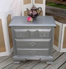Silver Leaf Bedroom Furniture by Nightstand Beautiful Awesome Mirrored Nightstand Ikea In New