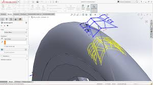 how to apply circular pattern to cut extrude feature in solidworks