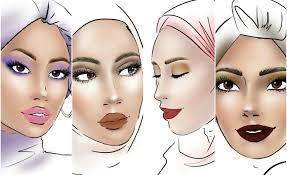 Makeup Tiar Zainal raya glam the sephora glamraya looks by tiar zainal star2