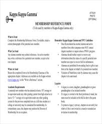 7 sample sorority recommendation letter free sample example