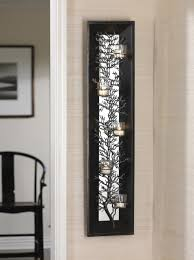 home decoration splendid mirror wall decoration with floral wall